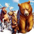 Сoloring pages. Cartoons - Brother Bear