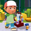Сoloring pages. Cartoons - Handy Manny