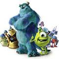 Сoloring pages. Cartoons - Monsters, Inc