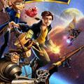 Сoloring pages. Cartoons - Treasure Planet