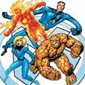 Movies coloring pages for children - Fantastic Four