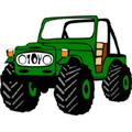 Сoloring pages. Transport - Cars - Off-road 4x4